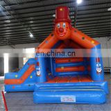 Commercial custom clown inflatable combo game for adult, used commercial kids indoor playground equipment sale
