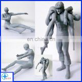 resin figure man action statue