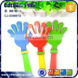 Funny applaud toys hand shape noise maker plastic hand clappers