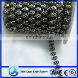 The new fashion skull bead plastic electroplating skulls connectivity of beads chain