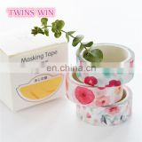 Alibaba com cn Factory Productionl cheap promotion cute fancy 5m self-adhesive colorful masking tape paper