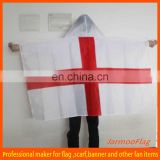 reusable fabric England body flag