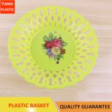 TX003 PLASTIC COLORFUL BASKET FRUIT BASKET