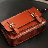 Foreign trade original woman head layer leather hand bag