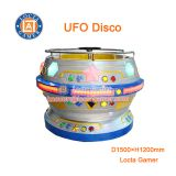 Zhongshan amusement park equipment Swing Dancing Rides Disco Turning Tagada mini 4 seat UFO Disco, swing chair