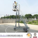 Convenient Aluminium Liftable Platform Ladders for Industry