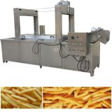 Continuous French Fries Frying Machine/french fries deep frier