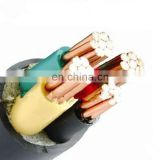 Underground armoured power cable cu xlpe swa pvc size xlpe 5 core armoured electric power cable
