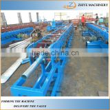 European Standard Water Gutter Roll Forming Machine /Roof Water Aluminum Gutter Roll Forming Machine