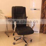 Workwell luxury pu leather office chair with metal frame