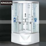 Bathroom Cleaning Acrylic Steam Cabin Portable Steam Generator With Steam And Massage K-7078