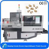 swiss type cnc automatic lathe for electrical accessories