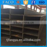 Tianjin square rectangular pipe ! cold bending tube erw steel square tube material specifications