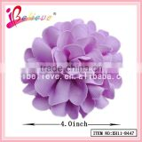 2015 Wholesale hair accessories fashion jewelry grosgrain flower hair clip for women (XH11-8447)