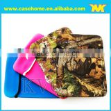 2015 newest colorful neoprene case with Portable belt, notebook case, for SBR tablet case,
