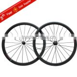 Miracle carbon wheels tubular 38mm 700C rims 3K-clear coating road wheelsets MT-38T