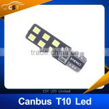 T10 Canbus No Error 2835 12SMD LED Clearance Lights, W5W Car Marker Light Side Bulbs Door Lamps