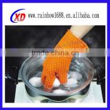 China Manufacturer Wholesaler BBQ Silicone Gloves/Kitchen Hand Glove/Kitchen Silicone Gloves