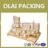 Wholesale luxury wooden jewelry display made-in-china