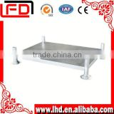 widely use in workshop stainless steel pallet for Multi Box Beams