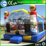 2016 sports entertainment bounce house material inflatable bouncer