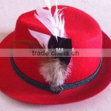 German Oktoberfest Hat Beer Festival Tyrolean Bavarian hat H1202