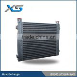 construction machinery 1.3 ton excavator heat exchanger ,air to oil single pass oil cooler