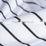warp knitting polyester black yarn plain fabric
