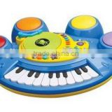 musical instrument toy for children Blue color Electric Organ,Piano toys