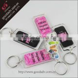 Customized Logo OEM Designed personalized acrylic keychain