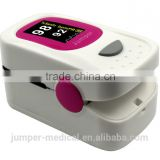 High quality excellent apprence low power consumption Jumper finger pulse oximeter