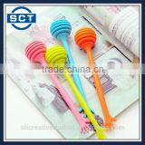 Long Handle Plastic Honey Dipper Stirring Stick Mixing Spoon Kitchen Stirrer