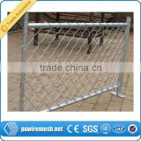 temporary economicused chain link fence for sale anping factory manufacture for cheap fence