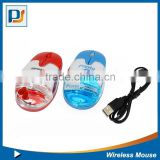 Original colorful Mini Liquid Wireless Mouse With personalized floater inside