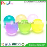 hot new products for 2015 wholesale China supplier kids toy 3D figure rubber bounce ball
