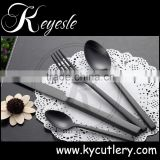 manufacture cutlery,black cutlery set,black plated flatware set                                                                         Quality Choice