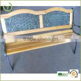 Modern style Cast iron garden bench/cheap wooden bench for outdoor use                                                                         Quality Choice