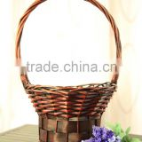Rattan baskets, Vintage Wicker Handmade Flowers Fruits Bread Picnic Gift baskets baskets for hamper