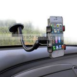 Universal Long Arm/neck 360 Degree Rotation Windshield Car Mount Cradle Holder For iPhone Samsung