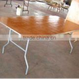 factory wooden folding table in furniture