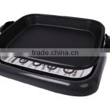 CE GS Certification with Glass Lid Electric aluminum fry pan