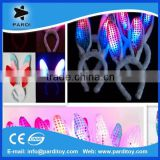 2015 Easter day events led flashing bunny ear headband                                                                         Quality Choice