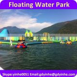 2016 giant inflatable floating water park games, SGS Inflatable Aqua Park for adulots and kids