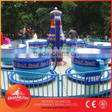 Super Cool ! Park funfair children rides exciting rotary tea cup for sale, 24 seats amusement coffee cup