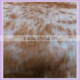 30mm super soft good quality velboa acrylic tip print long hair goat fur fabric rabbit fur wholesale for garment hometextile