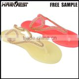 New model red flip flop , latest design cheap pvc plastic slipper                                                                         Quality Choice
