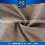 China suppliers Shaoxing Beautiful polyester hopsack fabric fire retardant lacquer viscose stretch suiting fabric