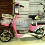 14inch two seats electric scooter mini electric powered bike