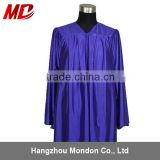 Choir robe - adult church robe shiny purple