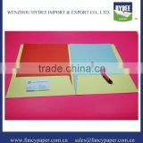 Colorful paper File Folder (Paper Folder, File Holder, Document Holder, Clip File, Suspension File, office/school File)
